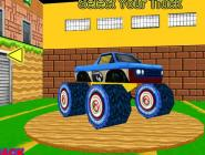 Mario 3D Monster Truck